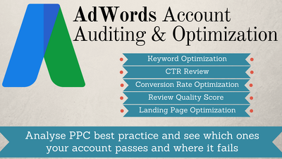 AdWords Account Audit & Optimization