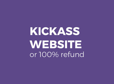 Do the kickass website with unlimited revisions