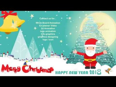 Make animated Christmas animation Video