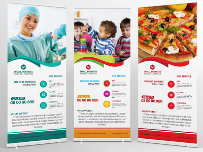 I will design fantastic and creative print ready roll up banner