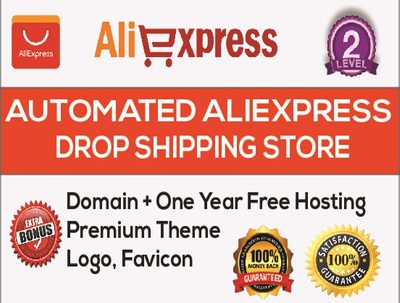 Create AliExpress Autopilot Dropship Store Ready For Sales