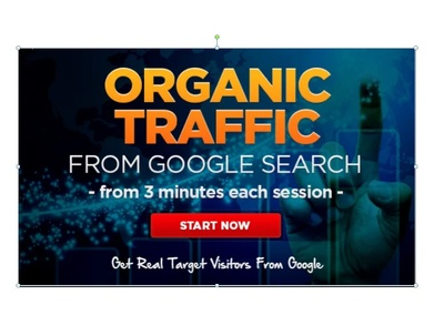 Drive Organic Traffic To Your Site for 7 Days