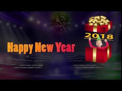 Make An Elegant Happy New Year 2018 Video