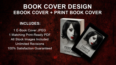 Create a Beautiful eBook Cover and Matching Print Book Cover