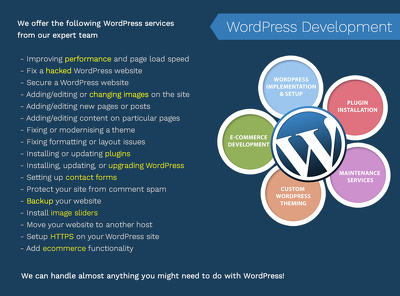 Upgrade Wordpress core and contributed plugins