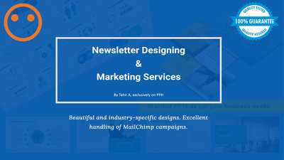 Design and send your Newsletter via MailChimp