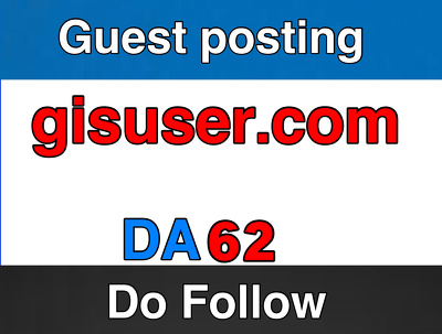 Guest post on Gisuser  –  Gisuser.com – DA 62