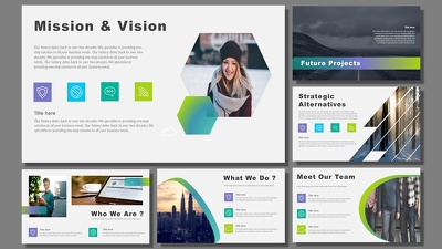 Design 10 slides impactful Powerpoint Presentation