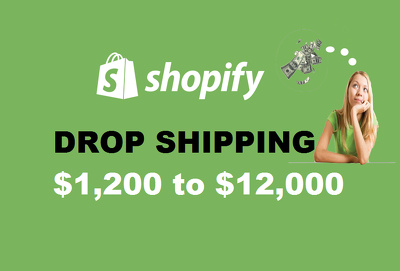 Create Any Niche Autopilot Shopify Aliexpress Dropshipping Store