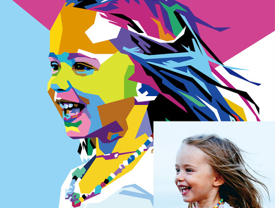 Draw awesome WPAP Pop-Art for you