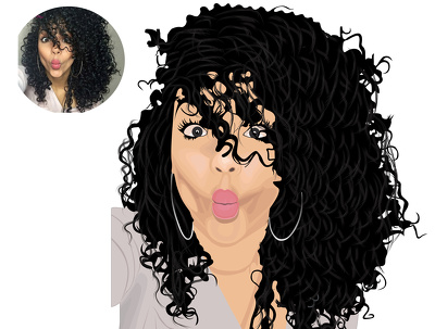 Design A Cartoon Portrait Into Your Photo With My Style
