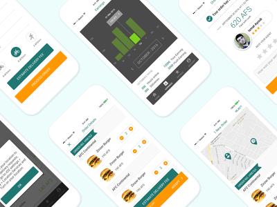Professional UI/UX for your Android/iOS App with editable PSD's