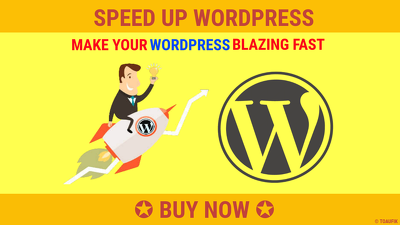 Optimize Wordpress Speed And Page Speed up to 500% Faster
