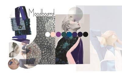 Create a moodboard/trend board/color board