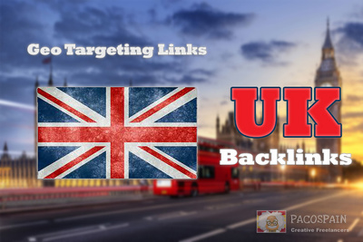 Create 100 backlinks on CO UK blog domains - GEO TARGETING