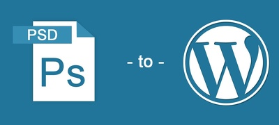 Convert one PSD to a responsive WordPress website