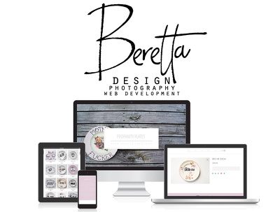 Create a 3-5 page website optimised for all devices