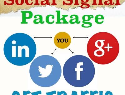 Provide POWERFULL HQ ORGANIC 2000 social signals