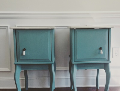 Redesign your room by hand painting your existing furniture