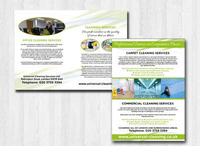 Design 4 page brochure/leaflet