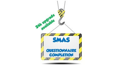 Complete your SMAS questionnaire for you
