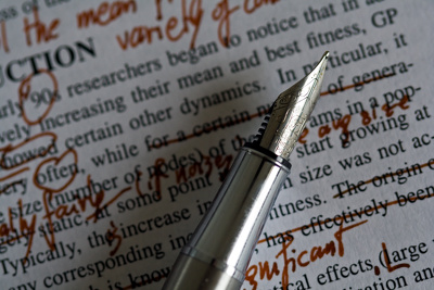 Proofread your fiction manuscript of 10,000 words or less