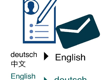 Optimise resume/CV and professional network profile in German