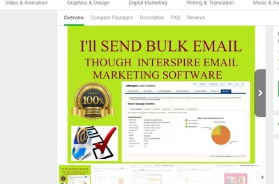 Send 25,000 Bulk  Email With Text, Html, Images