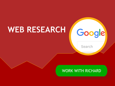 Conduct 2 hours of web research