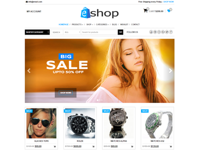 Design & Develop E-Commerce Website using Woo-Commerce