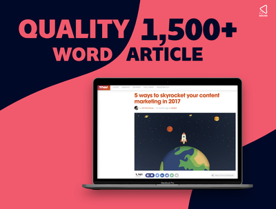 Write a Compelling 1,500+ Word Article/Guide/Tutorial/Blog Post