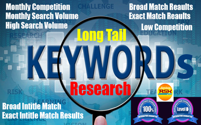 Do extensive keywords research with deep analysis reports
