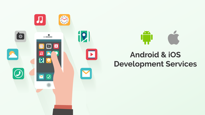 Develop mobile applications for Android and iOS