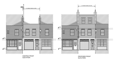 Prepare existing or proposed drawings of an extension or loft