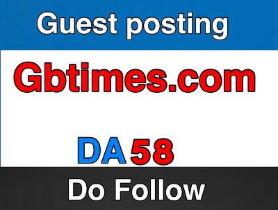 guest post on Gbtimes.com –  GBTimes – Do Follow