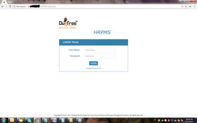 Design and develop HR Management System (HRMPS)