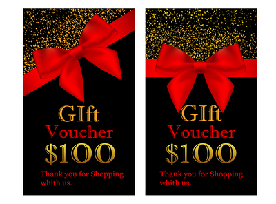 Design Gift Vouchers, weddi and Coupon Cards for you