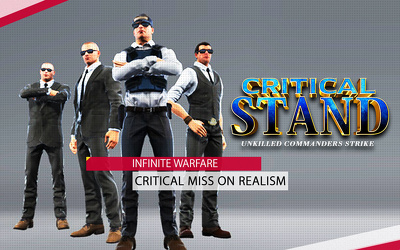 Critical Stand - Un-killed Commander Strike Game Android & IOS