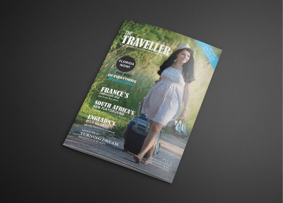 Design Attractive Magazine Cover And Layout
