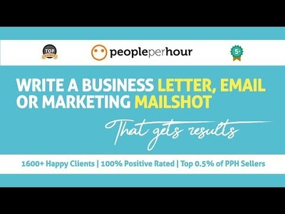 Write a business letter, email or marketing mailshot