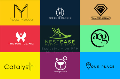 Create Modern Minimalist Logo in 12 hours