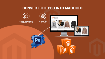 Convert the PSD files into Magento