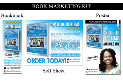 Design Custom Book Marketing Kit