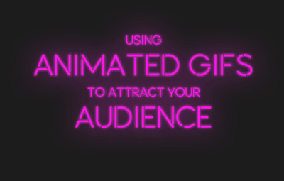 Create an animated GIF image or banner