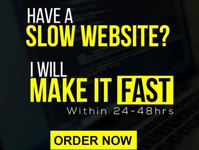 Improve Wordpress Website Speed Or Google Page Speed Score