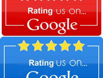 Delivered 15 google website rating