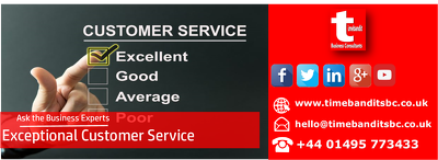 Provide an industry winning customer service policy