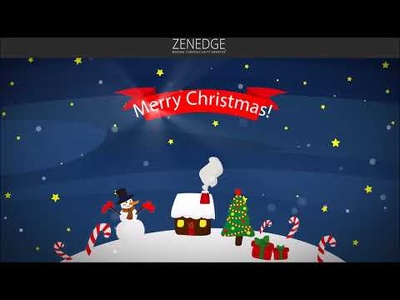 Create your own  Company Xmas Video with your details in 1 day