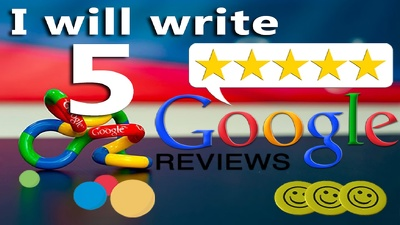 Post 5 verified Google Reviews for you business Awareness