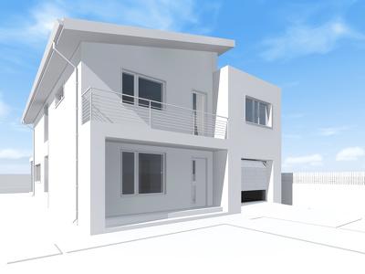 Create exterior renderings.